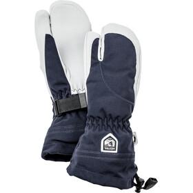 Hestra Heli Ski 3 Finger Handschuhe Damen navy/off-white
